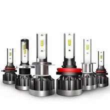 ECAHAYAKU Car H7 H4 LED Headlight Bulbs 9005 9006 H11 H8 D2S D1S D3S H1 Led fog Lamp 40W 40000LM Headlamp driving Fog Lights