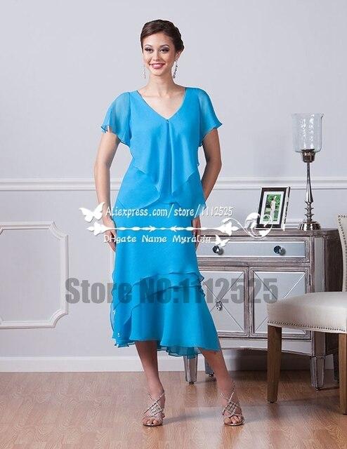 Matrimonio Sulla Spiaggia Outfit : Amd madre della sposa abiti di chiffon blu per matrimonio