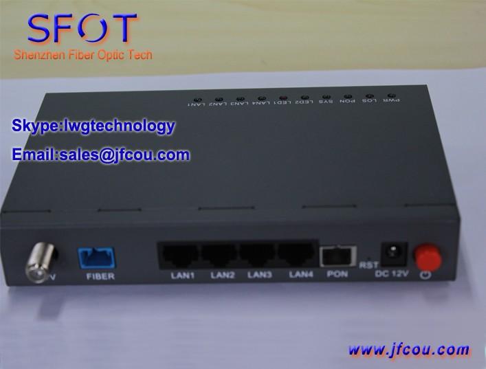 SFOT-4GE+CATV GPON ONU-01