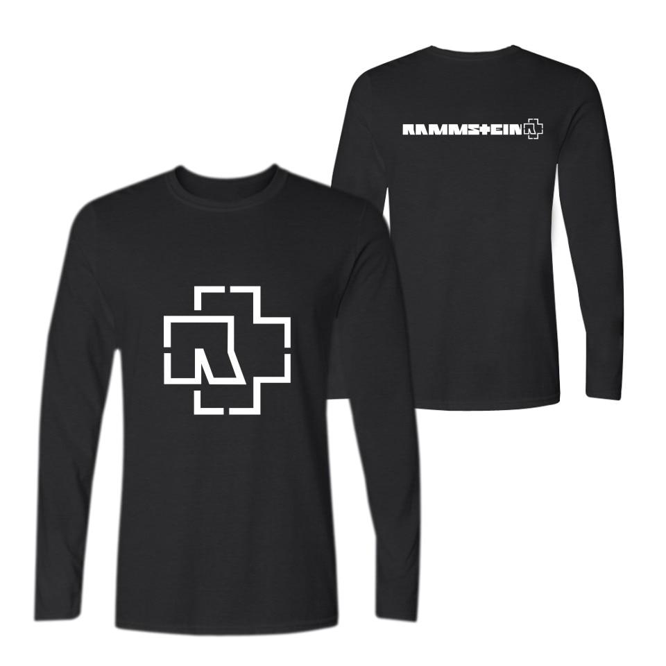Rammstein Fashion Long Sleeve T Shirt Men And Women Slim