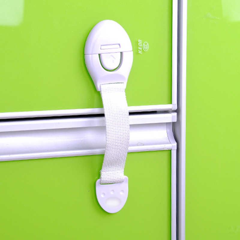 1 Pcs เด็กทารกความปลอดภัยล็อคตู้ประตูลิ้นชัก Multi-ฟังก์ชั่นล็อคความปลอดภัยเด็กป้องกันความปลอดภัย Baby Care