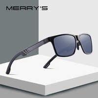 MERRYS DESIGN Men Aluminium Magnesium HD Polarized Sunglasses Mens Driving Sunglasses UV400 Protection S8571