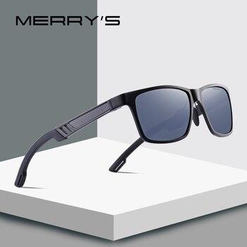 Merrys design men 알루미늄 마그네슘 hd 편광 선글라스 mens 운전 선글라스 uv400 protection s8571