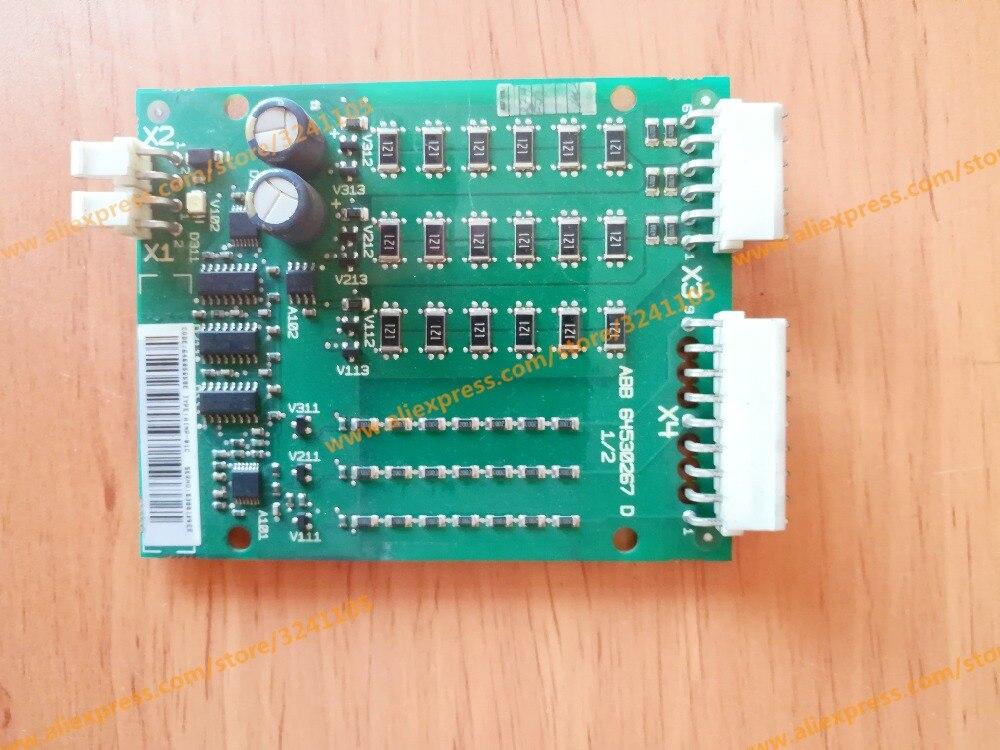 ABB64530267D AINP 01C Gleichrichter Fahrer Bord für ACS800 04 MODUL-in Gebäudeautomation aus Sicherheit und Schutz bei  Gruppe 1
