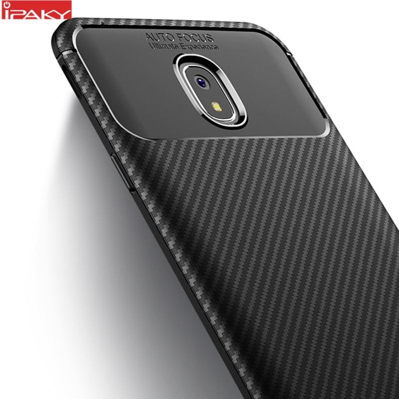 för Samsung J3 J4 2018 Väska IPAKY J6 J7 2018 Väska Silikon TPU - Reservdelar och tillbehör för mobiltelefoner - Foto 1