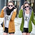 2016 весна Кашемир большой размер длинный отрезок с капюшоном пальто куртки толстые плюс размер женщин пальто и куртки женщины повседневная толстовка 4xl
