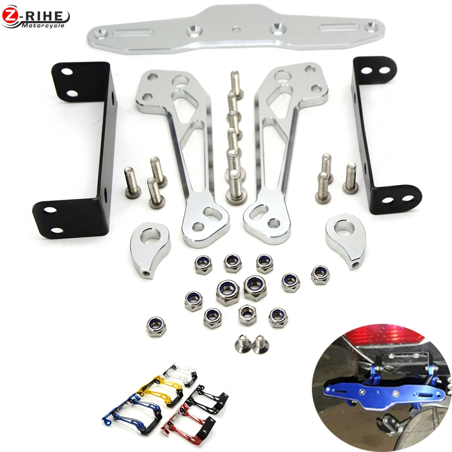 Fender Eliminator motorcycle License Plate Bracket Ho Tidy Tail Universal for Yamaha XT1200ZE 12-15 FJR1300 XJR1300 FJR XJR 1300 aftermarket free shipping motorcycle parts eliminator tidy tail for 2006 2007 2008 fz6 fazer 2007 2008b lack