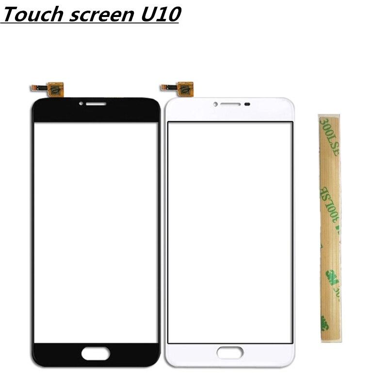 Touchscreen For Meizu U10 Touch Screen Digitizer Sensor Panel For Meizu U10 Front Glass Lens Free Shipping
