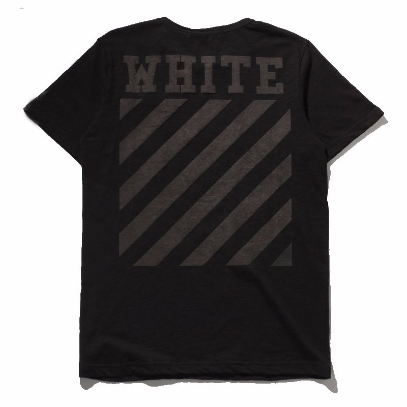 OFF-WHITE-T-Shirt-Men-YEEZY-Off-White-Kanye-West-Hip-Hop-Rap-Black-Cotton-T