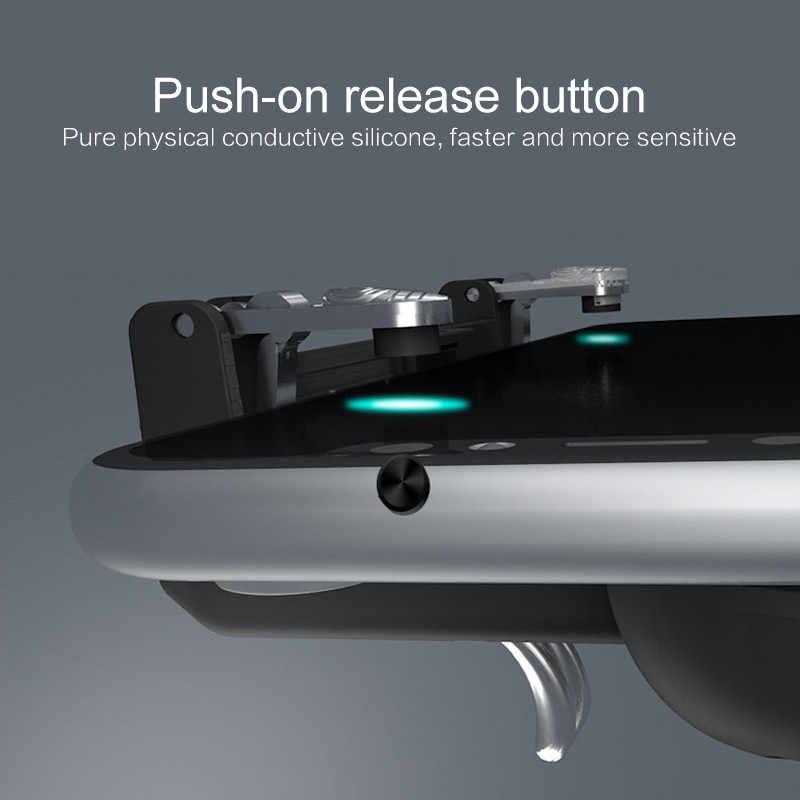 Джойстик Pubg контроллер огонь цель пусковая схема огня шутер для iPhone XS Джойстик Android IOS кнопки V3.0 металла геймпад нажмите 4 раза