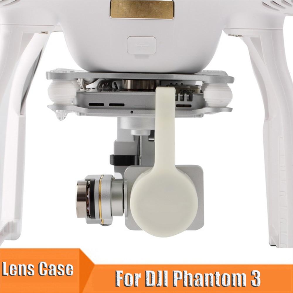 Drone Gimbal Camera Lens Protective Case For DJI Phantom 3 Drone Lens Shell Cap Protector For DJI Phantom3 Gimbal Lens Accessory