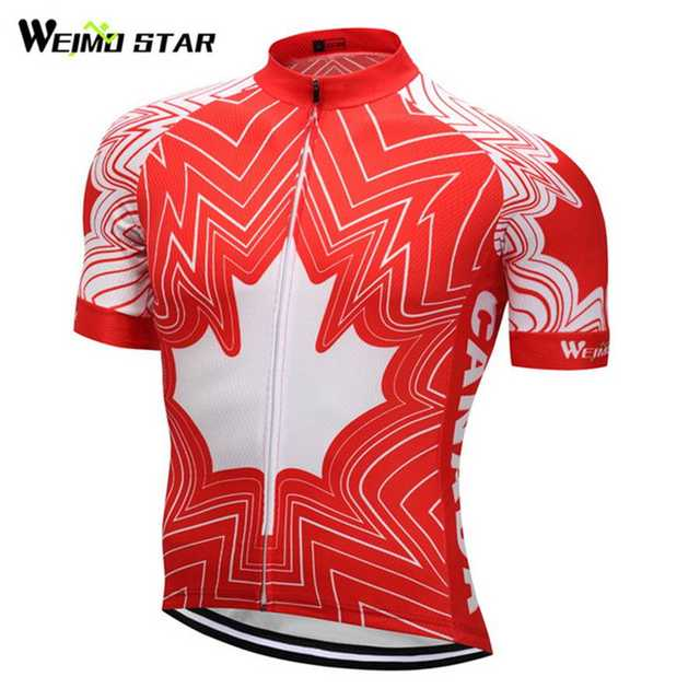 980f10c9c2d6b Online Shop Canada Style Weimostar men Pro Team cycling jersey cycling  clothing Bicycle clothes Bike Jersey Ropa Ciclismo Tops