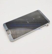 LCD ل LG G6 عرض تعمل باللمس مع الإطار ل LG G6 شاشة الكريستال السائل استبدال H870 H870DS H873 H872 LS993 VS998 US997 + أدوات
