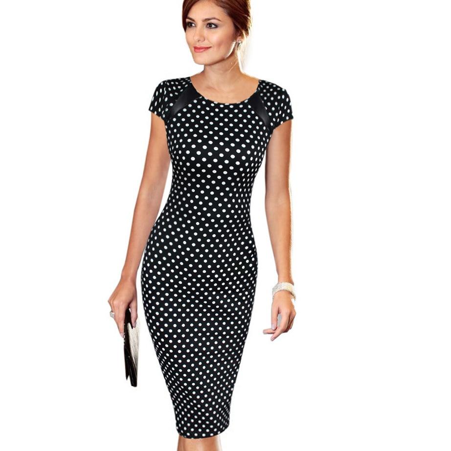 Women Dress Summer Elegant Floral Print Vestidos Work Business Casual Party Straight Dresses Plus Size 0100-2 short dresses office wear