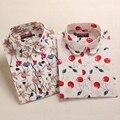Племенной Печати Блузки Женщины Vintage Рубашки С Длинным Рукавом Хлопок Топы Дамы Цветочные Blusas Плюс Размер 5XL Мода Женский Clothing