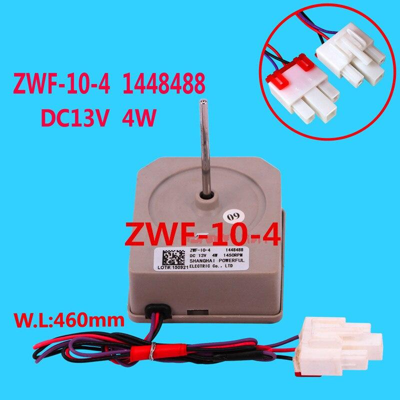1pcs For Hisense refrigerator fan motor ZWF-10-4 1448488 DC13V refrigerator parts