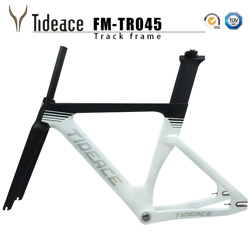 49 51 54 57cm Track Bicycle Frame Carbon Track Bike Frame Material From Taiwan Fixed Gear Bike Frameset 2019