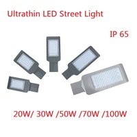 20W 30W 50W Road Lamp waterproof IP65 led chip lumen 130-140lm/w AC85-265V led street light