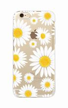 Daisy Sunflower Floral Flowers Soft Clear Case For iPhone and Samsung