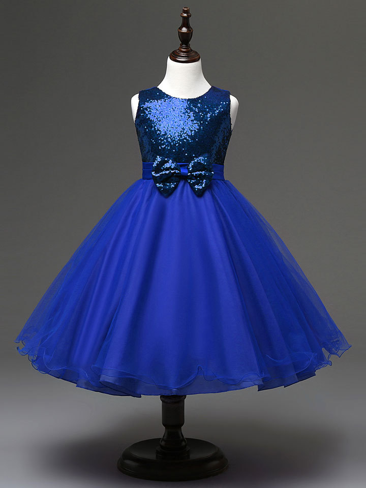 Подробнее о 2017 New Children Wedding Ball Gown Formal Birthday Princess Party Dress for Girl Clothing Girls Dresses Summer Kids Clothes flower girl dress for wedding party new style halter princess dresses children kids formal clothes girls long trailing gown