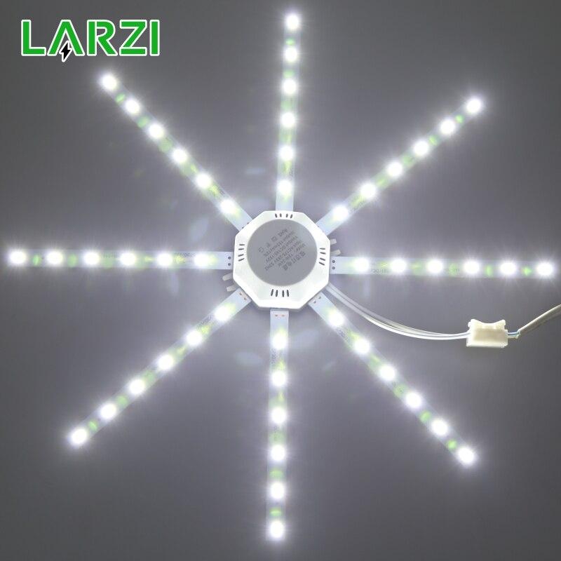 LARZI LED Ceiling Lamp Octopus Light 12W 16W 20W 24W LED Light Board 220V 5730SMD Energy Saving Expectancy LED Lamp 24w led ceiling lamp board light 5730smd octopus light 220v energy saving expectancy indoor lamp bedroom living room light