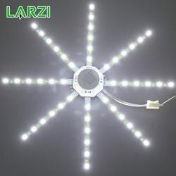 LARZI светодиодный потолочный светильник восьмилучевая лампа 12 Вт 16 Вт 20 Вт 24 Вт Светодиодный свет доска 220 В 5730SMD экономия энергии ожидаемая