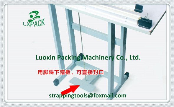 LX-PACK Lowest Factory price DIRECT HEATING Portable impulse sealer hand held sealer Hand heat sealing machine Heat Crimp Sealer lx pack lowest factory price foot pedal impulse sealer heat sealing machine plastic bag sealer 300 1400mm pedal sealer