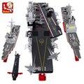 Sluban kits de edificio modelo compatible con lego ciudad nave 781 bloques 3D aficiones modelo Educativo y juguetes de construcción para los niños