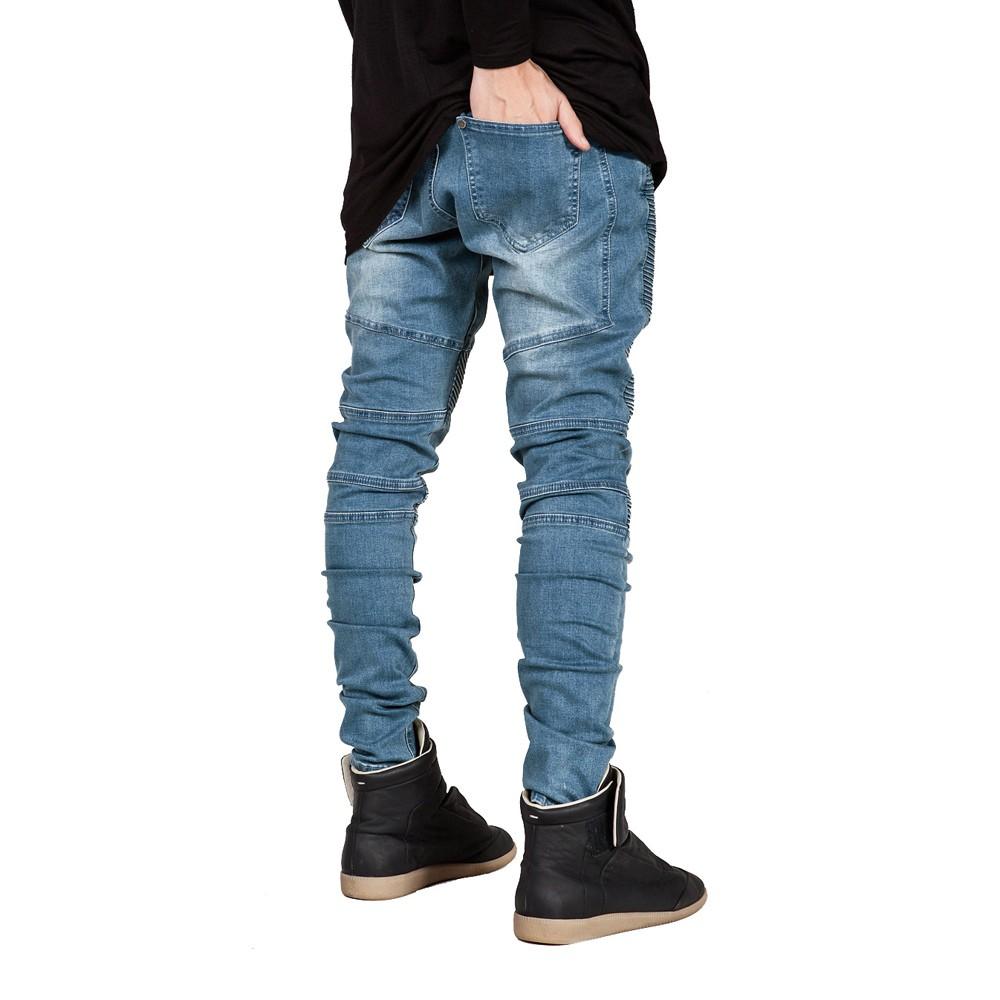 HTB1itwTLVXXXXaQXVXXq6xXFXXXc Runway Slim Racer Biker Jeans
