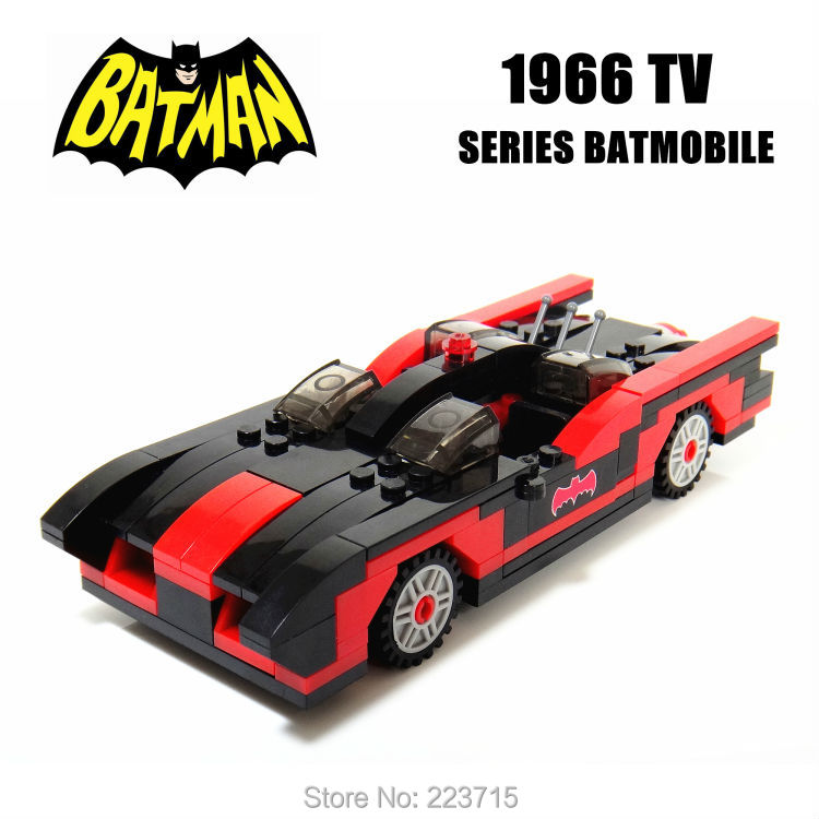 *BATMAN----1966 TV SERIES BATMOBILE* DIY enlighten block bricks,Compatible With other Assembles Particles free shipping the tian an men diy enlighten block bricks compatible with other assembles particles