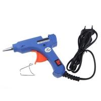 2016 New 20W Craft Electric Tool Heating Hot Melt Glue Gun With 20pcs EU Free Shipping