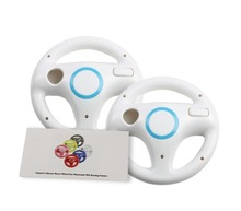 2 X Steering Wheel for Nintendo for WiiMario Wii Kart Game Racing Remote Controller Wheels Games Console Mar io 4 Color 2016 New