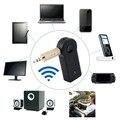 Беспроводной Bluetooth Музыкальный Приемник Адаптер Аудио 3.5mm Стерео A2DP Потоковой Музыки Автомобильный Комплект для Автомобиля AUX IN Главная Спикер MP3