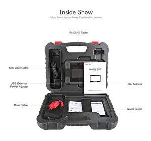 Image 5 - Autel MaxiDAS DS808 narzędzie diagnostyczne WIFI skaner OBD2 skaner samochodowy klucz kodowania skaner OBDII narzędzie motoryzacyjne pk DS708