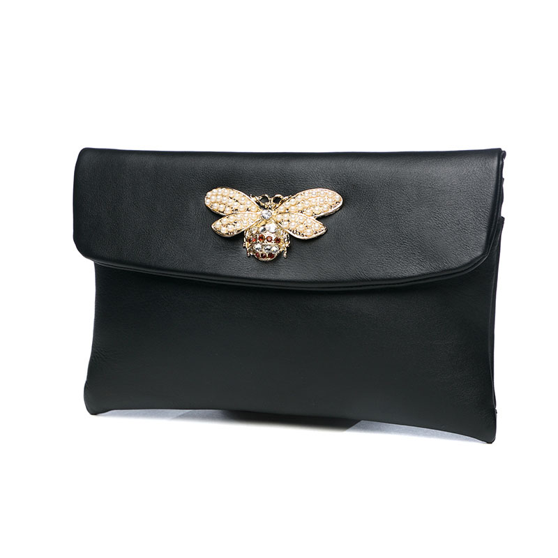 Famous Brand Luxury Cowhide Genuine Leather Day Clutches Women Large Capacity Butterfly Diamond Cover Shoulder Envelope Hand Bag women s genuine leather day clutches 2016 new china designers women s cowhide embossing one shoulder bags fashion day clutches