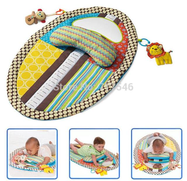 Sozzy multifunction  Baby Play Mat Changing Pad early  Education toy With Stuffed Animal,Pillow,Safety Mirror