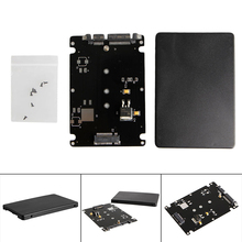 B + M 키 Socket 2 M.2 NGFF (SATA) SSD 에 2.5 SATA 어댑터 Card with Case(China)