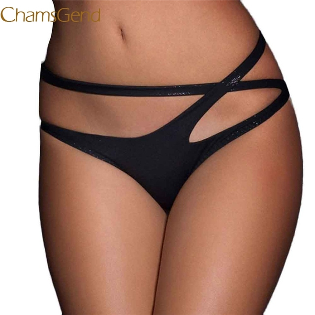 29fc2c790ad3 Newly Design Women Sexy Lingerie Bandage Open Crotch Crotchless Panties  Thong V-string Underwear M/XL/XXL/XXXL 160812