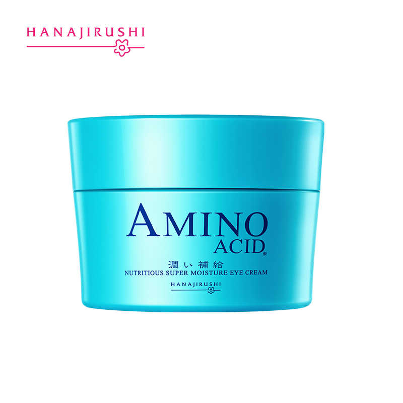 HANAJIRUSHI acide aminé crème pour les yeux supprimer cercle foncé sacs pour les yeux lignes de queue de poisson Anti-rides Anti-poches Anti-âge raffermissant 30ml