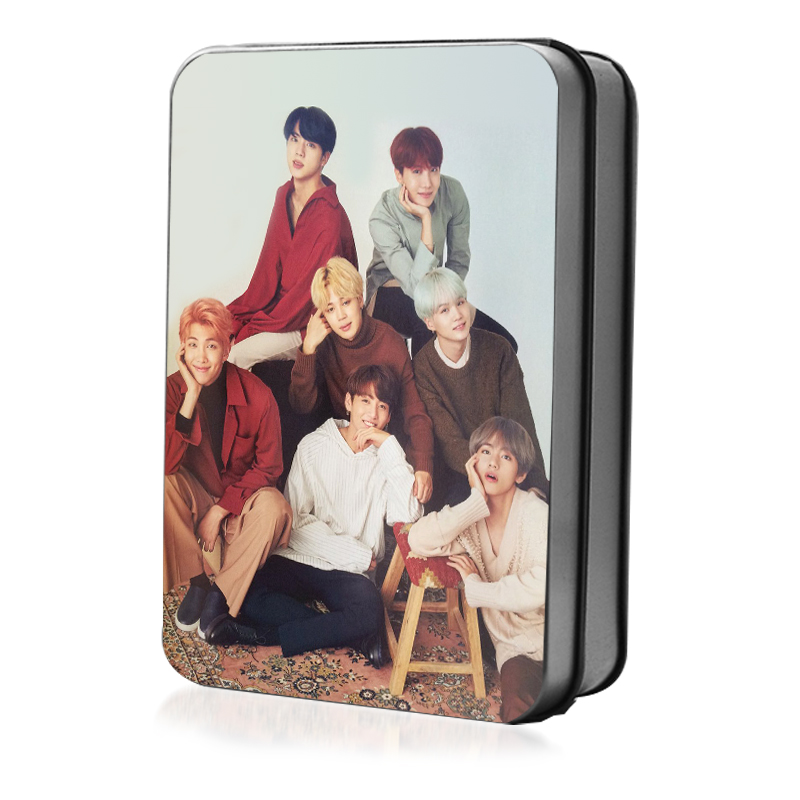 [MYKPOP]BTS JAPANESE MAGZINE NONNO Photo Card K-POP Paper Cards HD Polaroid Photocard 30 ...