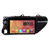 10 Android Car Multimedia Stereo GPS Navigation DVD Radio Audio Sat Nav Head Unit for Toyota Hilux 2016 2017 2018 2019