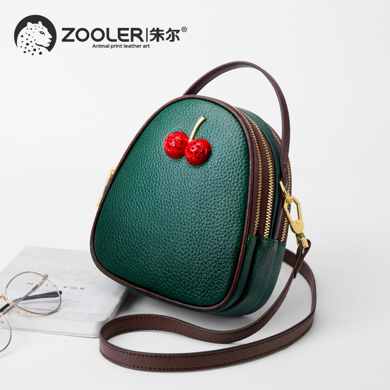 New cherry ZOOLER woman leather bags shoulder messenger bag crossbody fashion leather handbag purse fashion designed bags #md203New cherry ZOOLER woman leather bags shoulder messenger bag crossbody fashion leather handbag purse fashion designed bags #md203