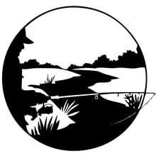 Fishing Vinyl Decal Sticker For Car or Truck Windows Laptops etc