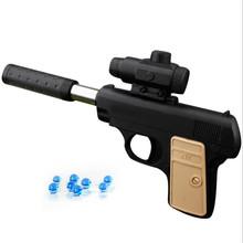 Zabawki chłopięce ręczne bomby wodne Paintball Airsoft Guns miękki pocisk pistolet pistolet urodziny prezenty gra sportowa na świeżym powietrzu zabawka tanie tanio abbyfrank keep away from fire BOYS 12-15 lat 5-7 lat 8 lat 6 lat 14 lat 3 lat 8-11 lat Pistol Toy Gun Zabawka pistolet pistolet