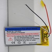 330Mah Vervangende Batterij Voor Ipod Nano1 1st Gen Generatie MP3 Li-Polymeer Oplaadbare Nano 1 616-0223 batterijen + Repair Tool