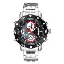 Relogios masculinos 2015 Deportes Al Aire Libre Relojes Hombres LED Digital Reloj Militar Hombres Deportes Relojes de Cuarzo Reloj de Los Hombres LED Digital