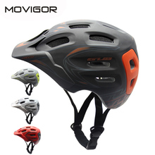 Movigor MTB Cycling Bicycle Helmet for Adult Integrally-molded Mountain Bike Riding Helmet casco bicicleta 18 Air Vents 56-62cm