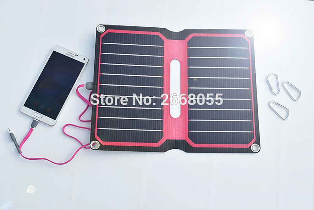 Xinpuguang 10W 5V Red Background Color ETFE Laminated All In One High Efficiency Solar Charger 12V Solar Panel Cell Flexible