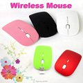 multicolor Mini Ultra-thin Slim 2.4Ghz RF Wireless Mouse Mice For Laptop Macbook Pro Air Mac OS