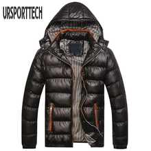 2017 New Brand Clothing Men Winter Jacket Warm Male Coats Fashion Thick Thermal Mens Parka Jacket Casual Mens Winter Parkas